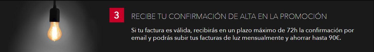 RECIBE TU CONFIRMACIÓN DE ALTA