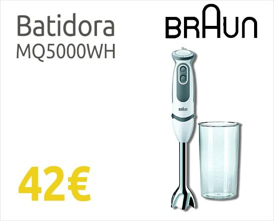 comprar batidora barata Braun