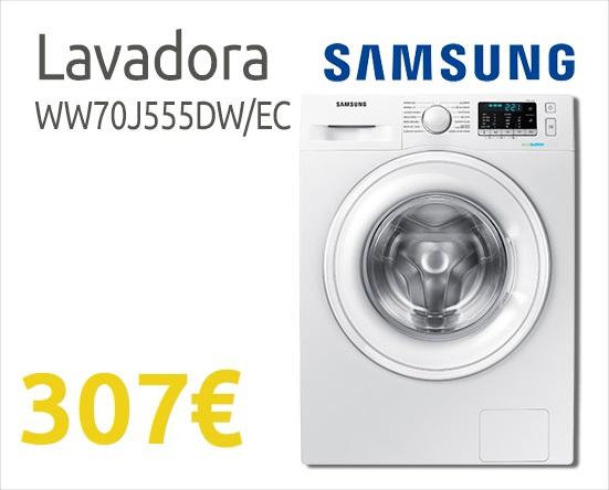 comprar lavadora barata Samsung